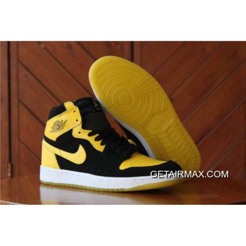 new products ce299 c5d31 Discount Air Jordan 1 Mid 'New Love' Black And Varsity Maize-White ...