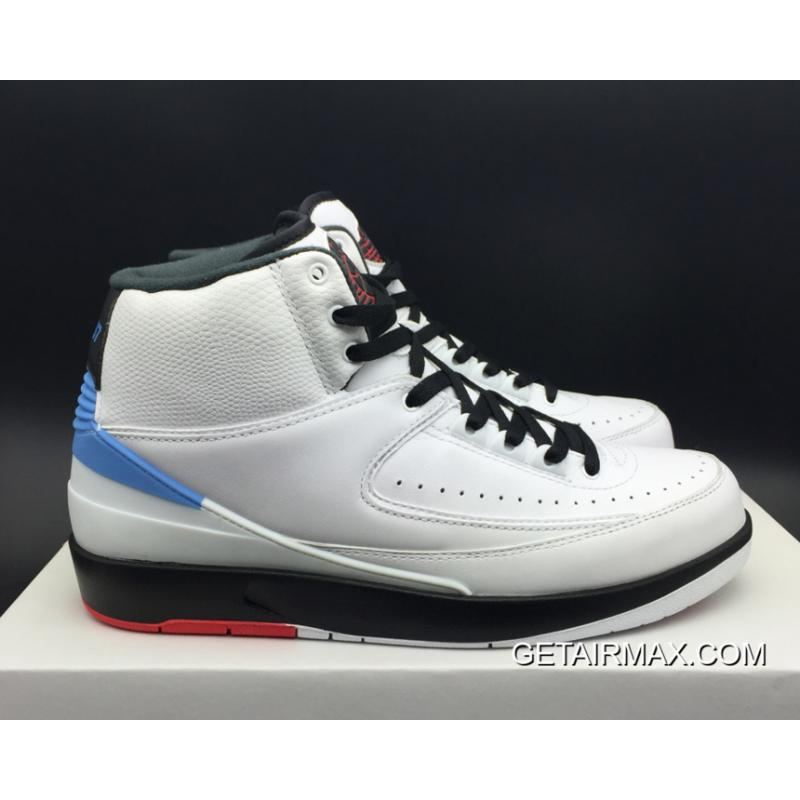1518b8833fe ... New Style Air Jordan 2 'Alumni' White And Varsity Red-Black-University  ...