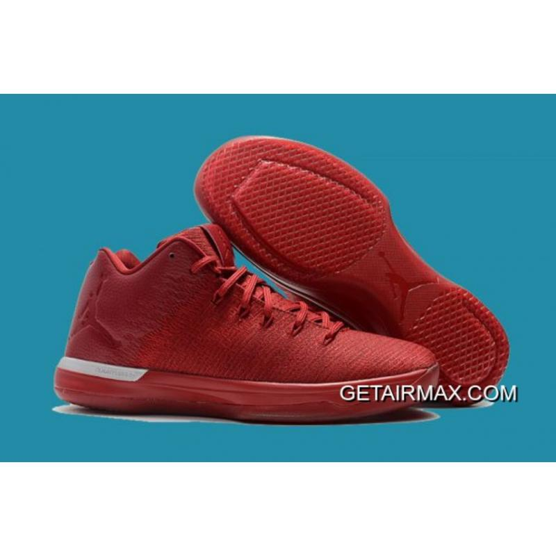 c765787fcc8927 Air Jordan XXX1 Low  Chicago Away  Gym Red And Action Red-Chrome Online ...