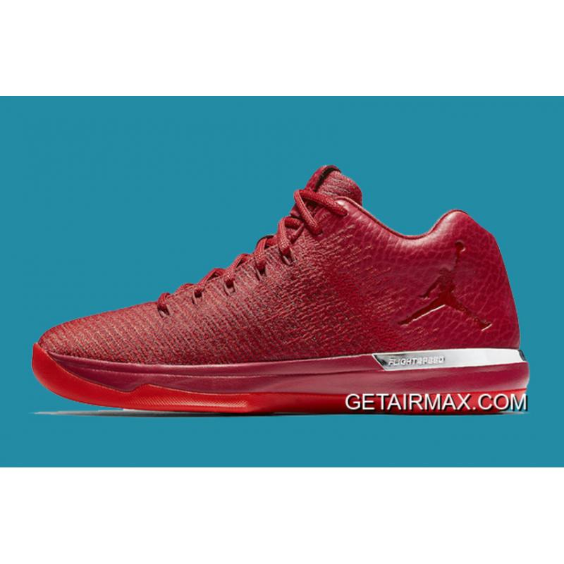 06f1ca6e85e45b ... Air Jordan XXX1 Low  Chicago Away  Gym Red And Action Red-Chrome Online  ...
