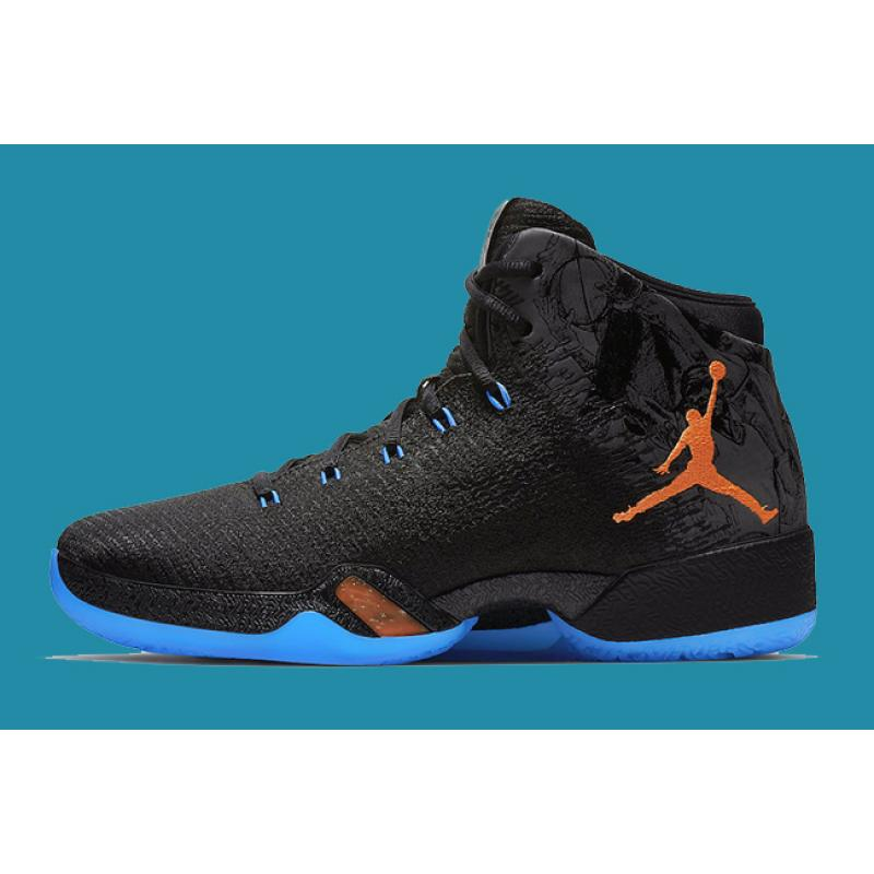 new concept 28bc6 2cf94 Air Jordan XXX1  Russell Westbrook MVP  Black Orange And Blue Super Deals  ...