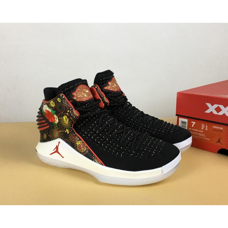 c7ca660d13f Top Deals Air Jordan 32 'CNY' Black/University Red/White-Metallic ...