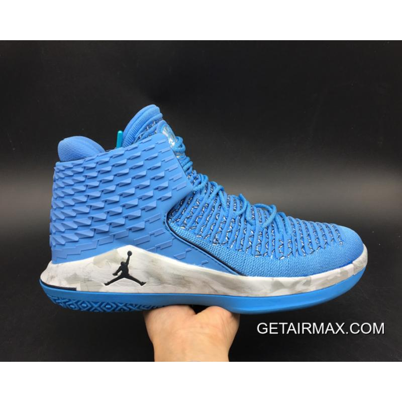54e1cd4560fdaa ... Online Air Jordan 32  UNC  University Blue College Navy-White ...