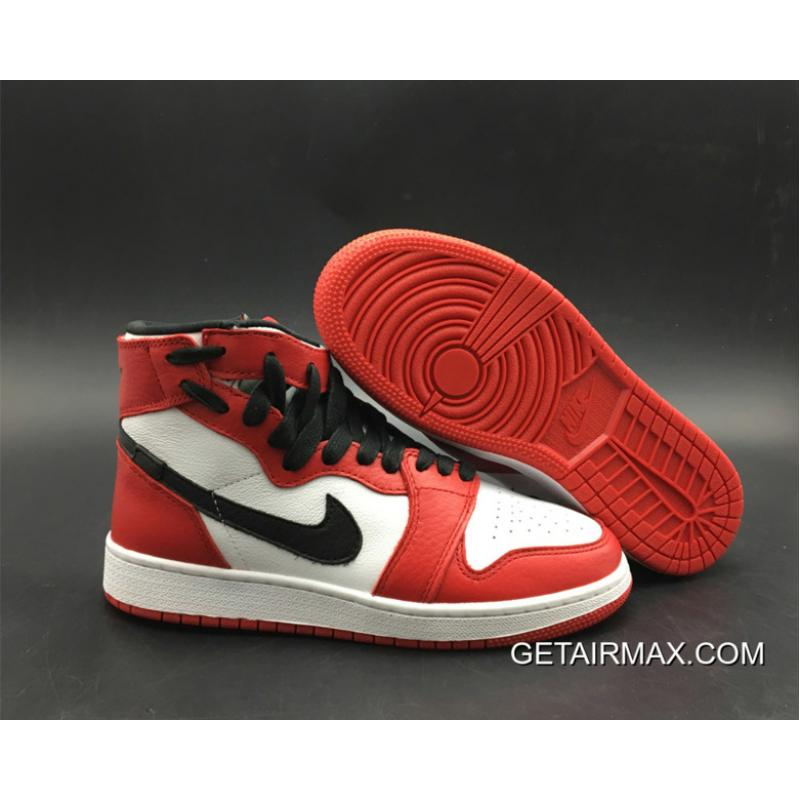 72703c3692b5 Air Jordan 1 Rebel  Chicago  White Varsity Red-Black Super Deals ...