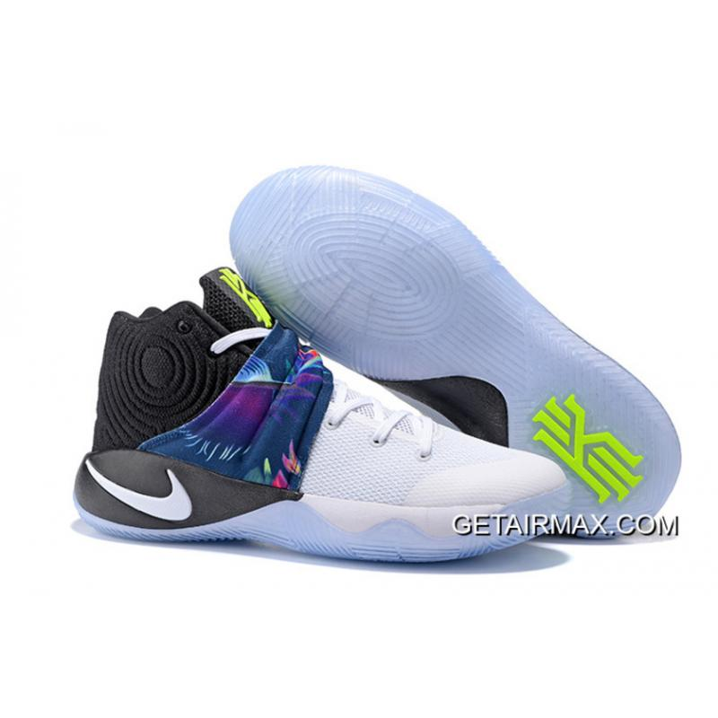 """2cbfe3aadcdd New Year Deals Girls Nike Kyrie 2 """"Parade"""" White White-Black-Volt ..."""