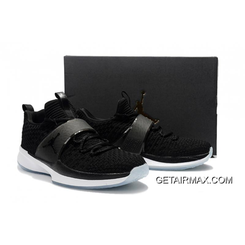 64f28b0bcc9cd ... Jordan Trainer 2 Flyknit  Black Ice  Black And White Discount ...