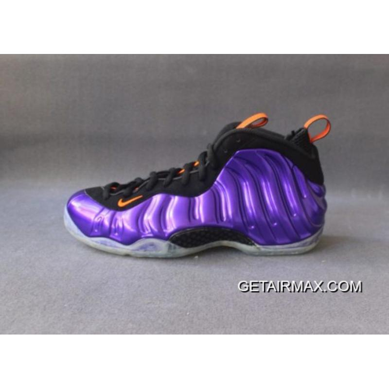 93195a2730c Nike Air Foamposite One  Phoenix Suns  Purple Total Orange-Black Copuon ...