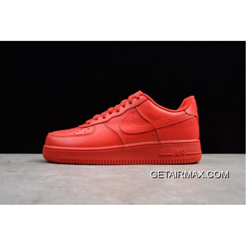 ff35ae602 Best Hot! Nike Air Force 1 Low  Solar Red