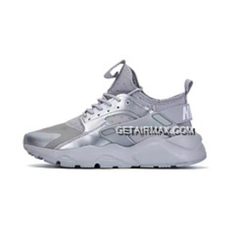 timeless design 33e12 2f37f Nike Air Huarache 4 Ultra Run Air Max Zoom Local Tyrants Silver New Release  ...