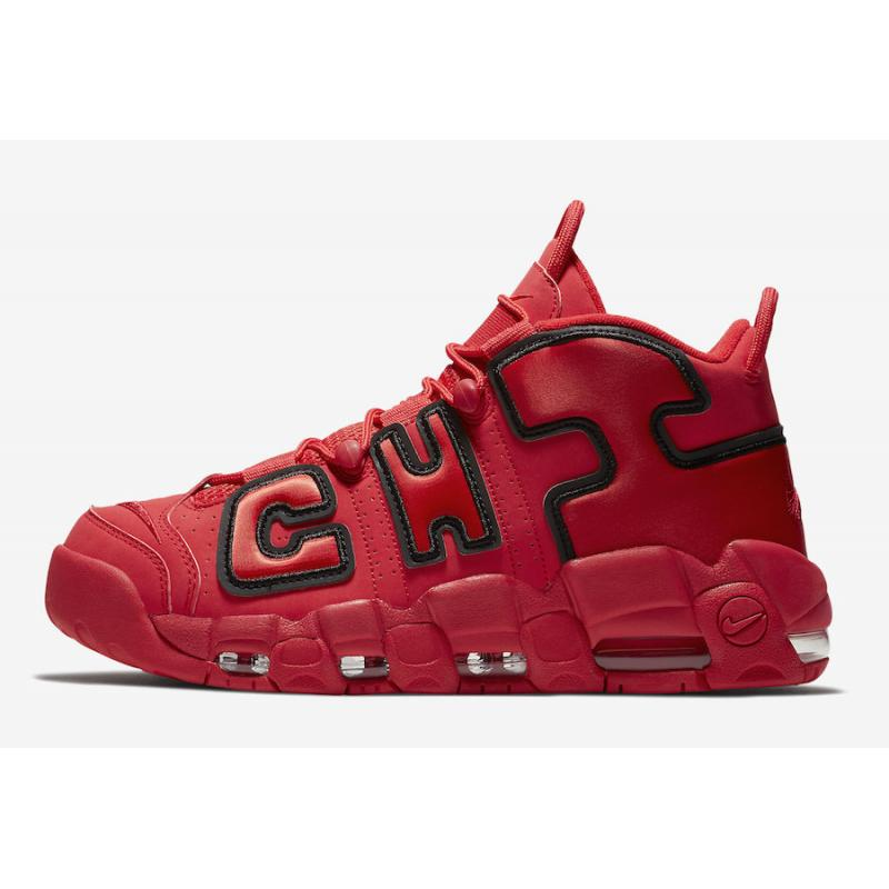 san francisco 05a20 0bcc9 For Sale Nike Air More Uptempo QS  Chicago  Black University Red-White ...