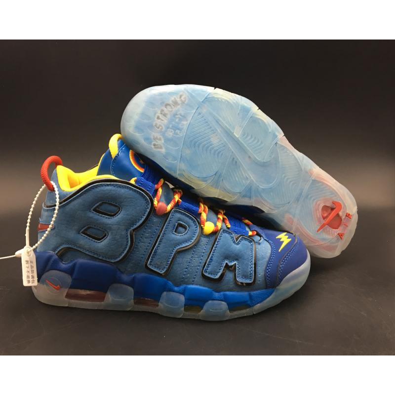 new style 4d4dd 5c9f4 Online Nike Air More Uptempo  Doernbecher  Blue Jay Gym Red-Team Orange ...
