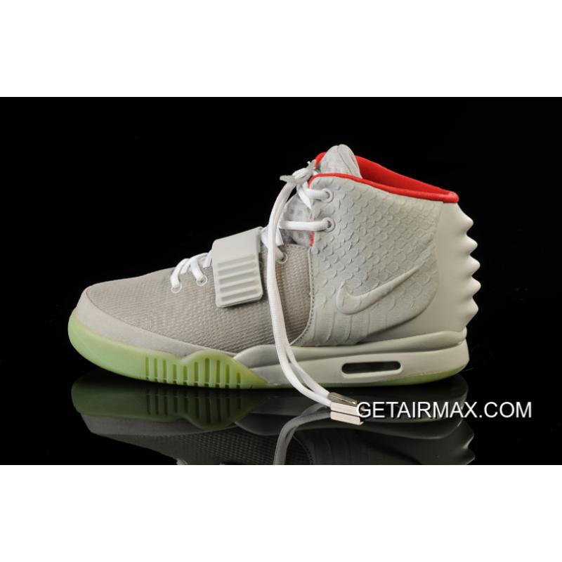 ad07649998238 ... New Year Deals Glow In The Dark Nike Air Yeezy 2  Wolf Grey Pure ...