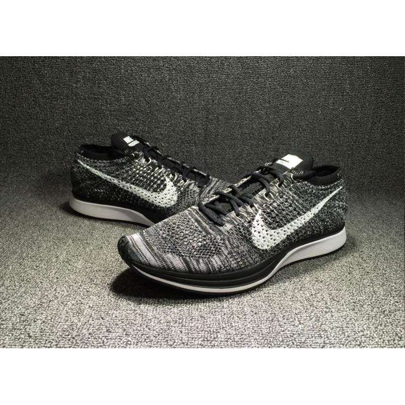 077a592133c3 ... Nike Flyknit Racer  Oreo 2.0  Black White New Year Deals ...