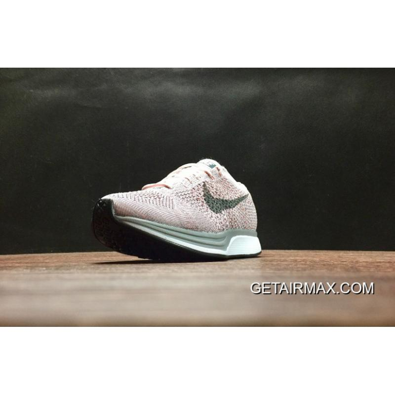5633bb442162 ... Nike Flyknit Racer  Strawberry  Pearl Pink And Cool Grey Latest ...