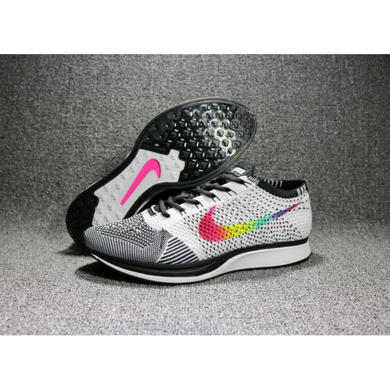 buy popular 8a70c 57dff Nike Flyknit Racer Be True Multi-ColorBlack-White New Releas