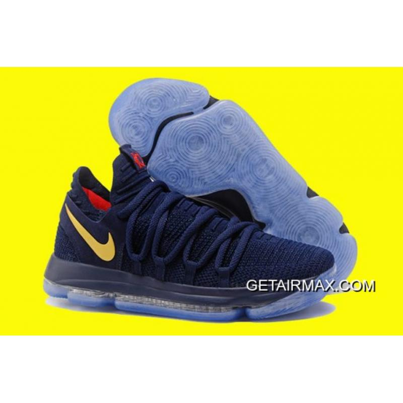 d93c88c5e0ab Nike KD 10  Olympic  Blue And Yellow Best ...