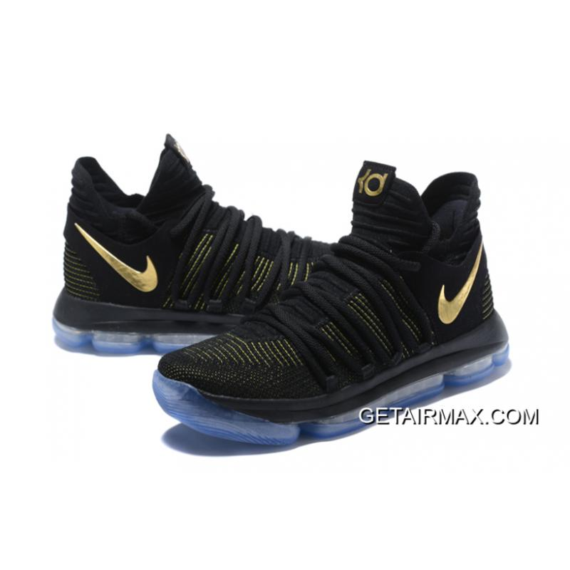 the latest dd3ae fcf66 ... For Sale Nike KD 10 Black Yellow ...
