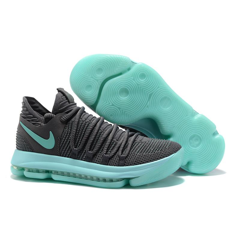 5bb2f1552f09 Nike KD 10 Igloo Cool Grey And Igloo-White Free Shipping ...