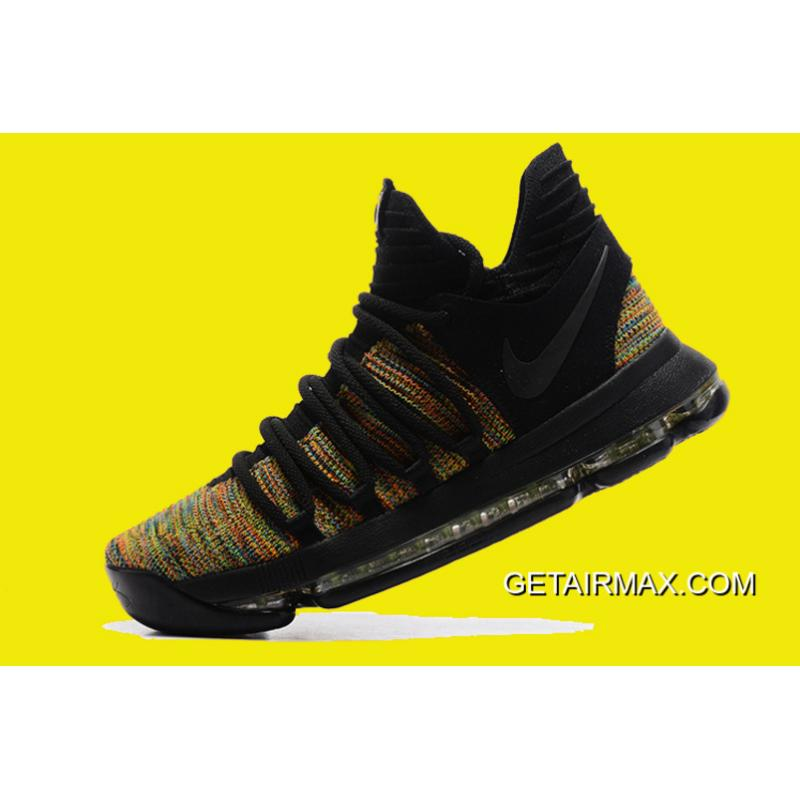 f324f3837dd0 ... Nike KD 10 Multicolor Black-Volt Latest ...