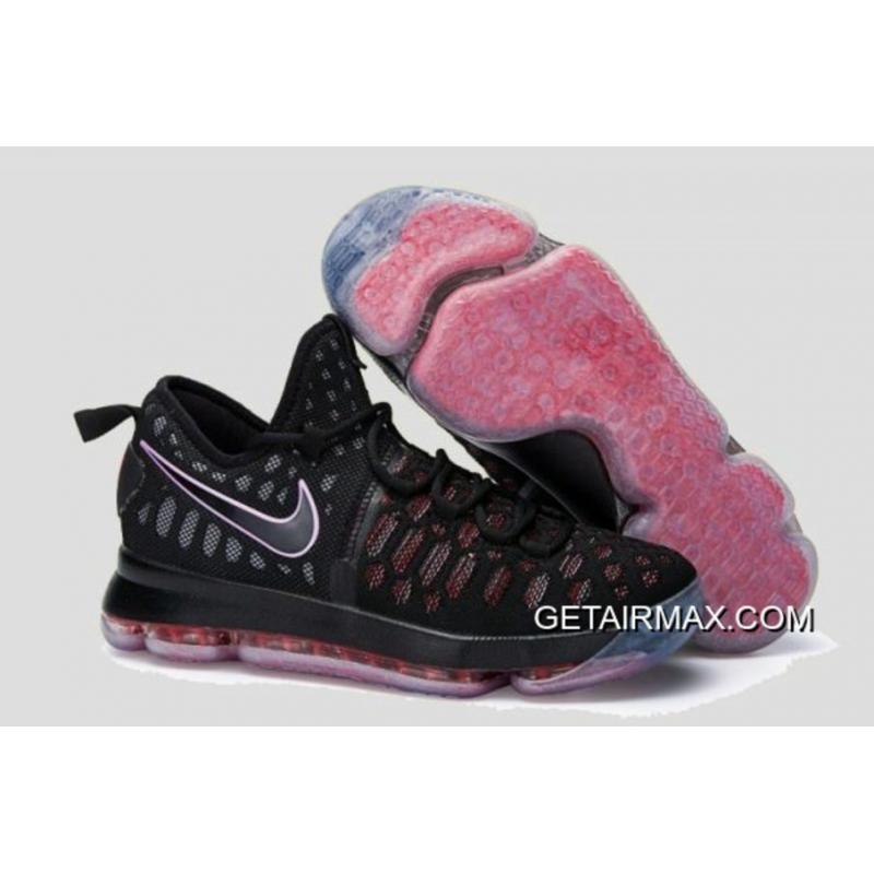 new product 7ea50 682dd Nike KD 9 Black Red New Style ...