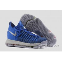 5c429e30d992 Nike KD 9 Elite  Golden State Warriors  PE Blue Silver New Release