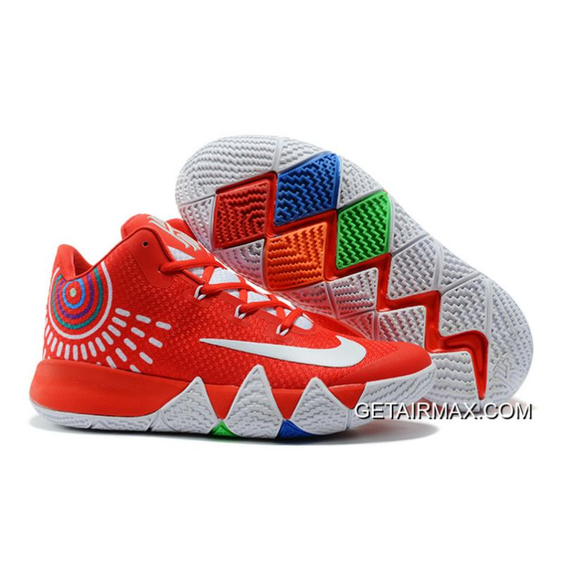 84663aaa062 Nike Kyrie 4 Red White Outlet ...