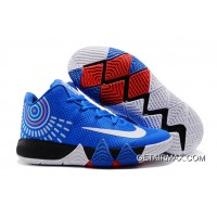 check out 0b503 ffd69 Nike Kyrie 4 Royal Blue White Where To Buy