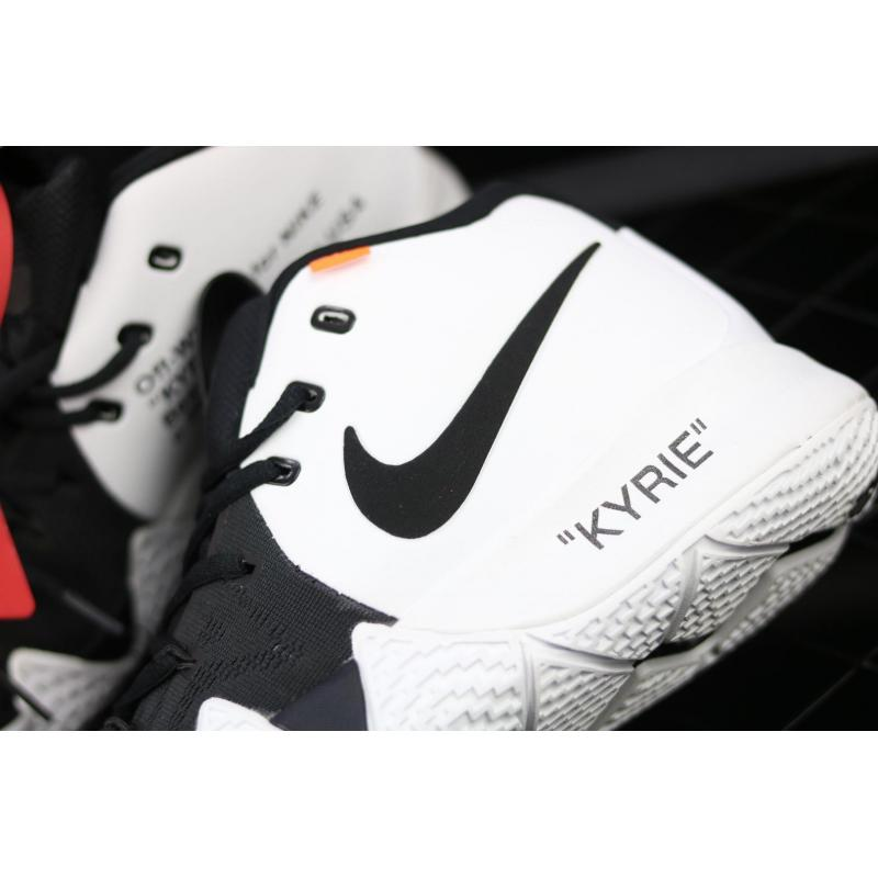 lowest price d7a22 5a3c1 Off-White X Nike Kyrie 4 Black And White Best, Price: $75.77 - Air ...