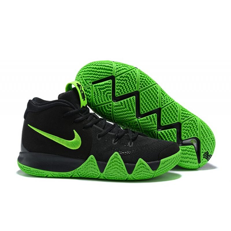 912750c73a37 Nike Kyrie 4 Black And Green Top Deals ...