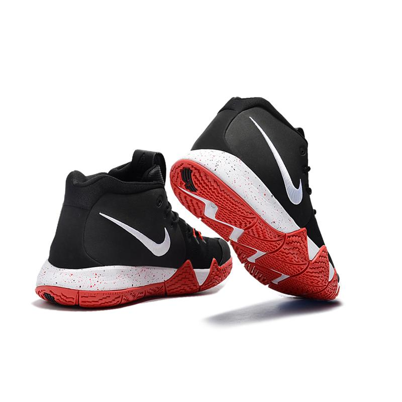 869ad2122e6915 ... Nike Kyrie 4 Black Red-White New Year Deals ...