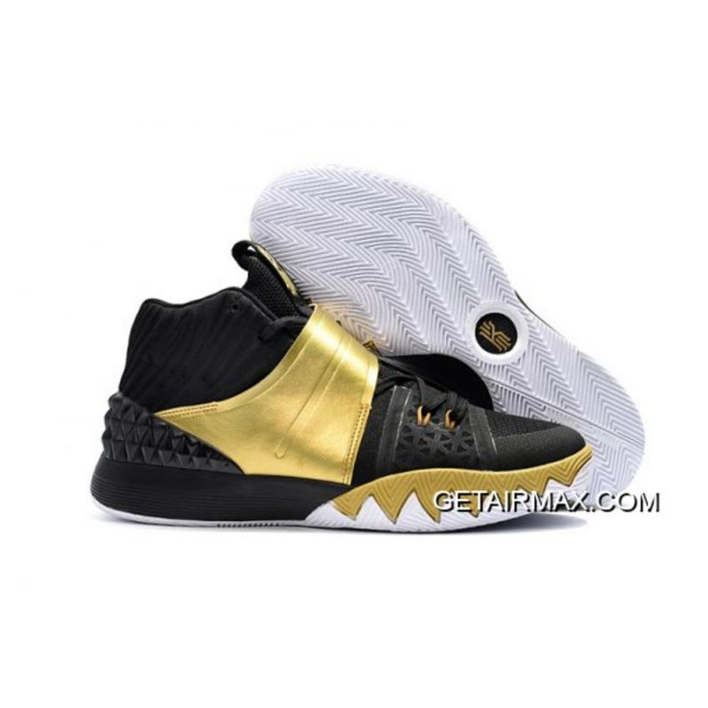 a4229f7aad7 Nike Kyrie S1 Hybrid Black Gold Top Deals ...