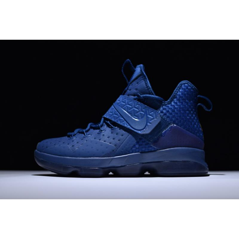 Nike LeBron 14  Agimat  Coastal Blue And White-Star Blue New Year Deals ... 3219d275e