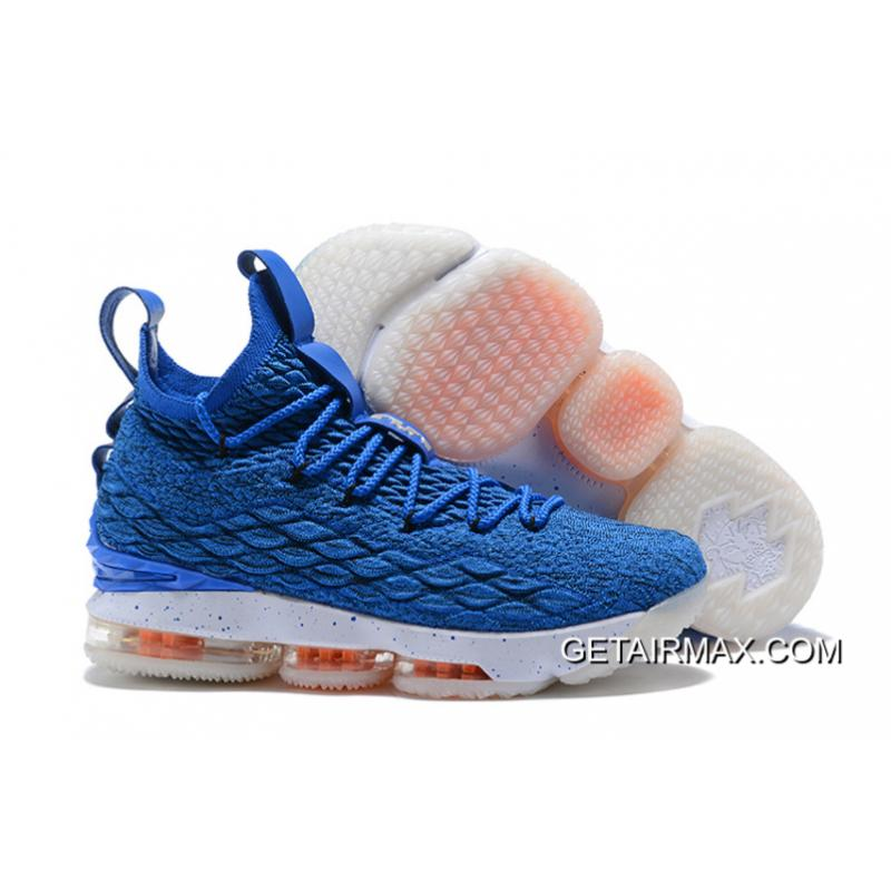 "31a4ad1af66 New Release Nike LeBron 15 ""HWC"" Photo Blue Photo Blue-Total Orange ..."