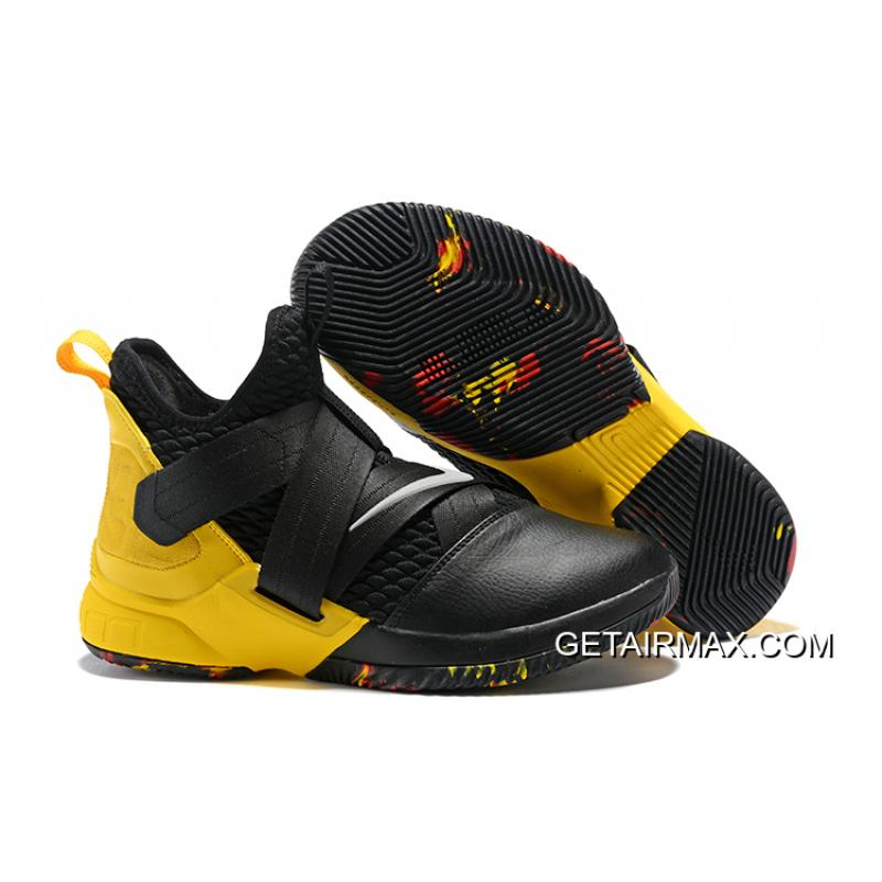 low priced b4112 89e95 Best Nike LeBron Soldier 12 Black Yellow