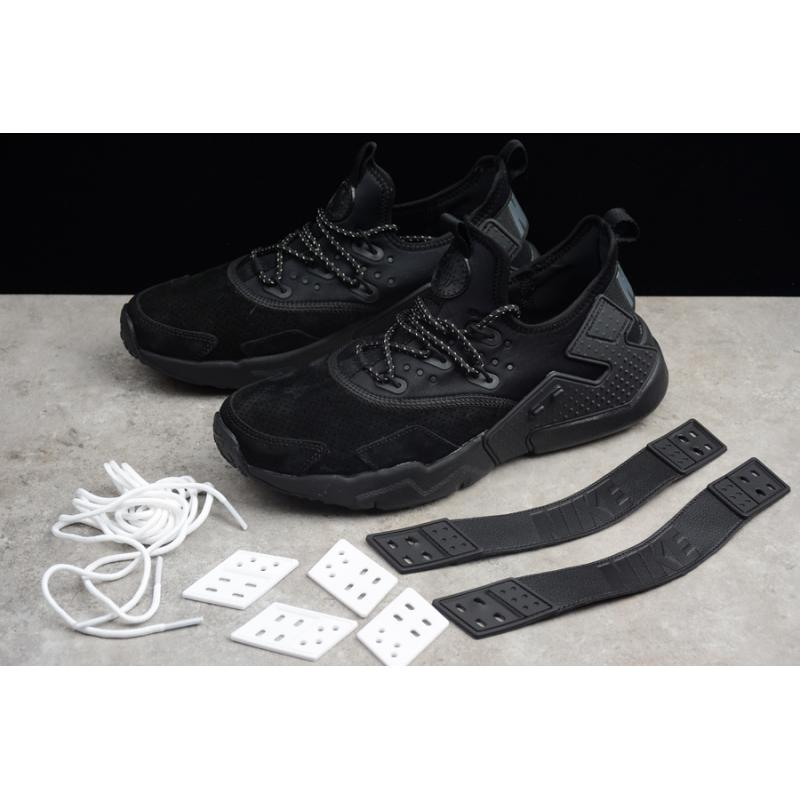 65463710b502 Nike Air Huarache Drift PRM Black Anthracite-White Discount ...