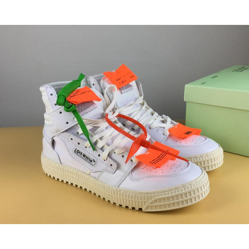 "7e78a4d96afd9 VIRGIL ABLOH X Off-White  Low  High-Tops 3.0 ""White"" Discount"