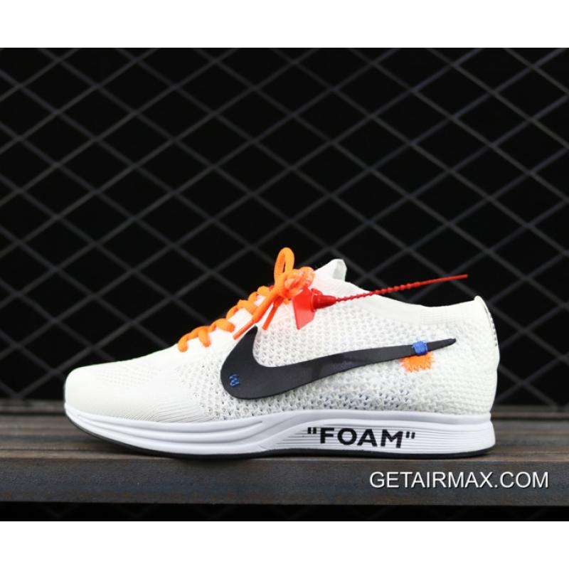 23376b4ee18c1 New Year Deals Off White X Nike Flyknit Racer White ...