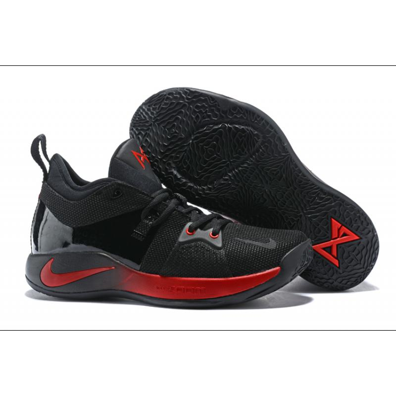 b924875c8a94ab Nike PG 2 Black And Red New Release ...