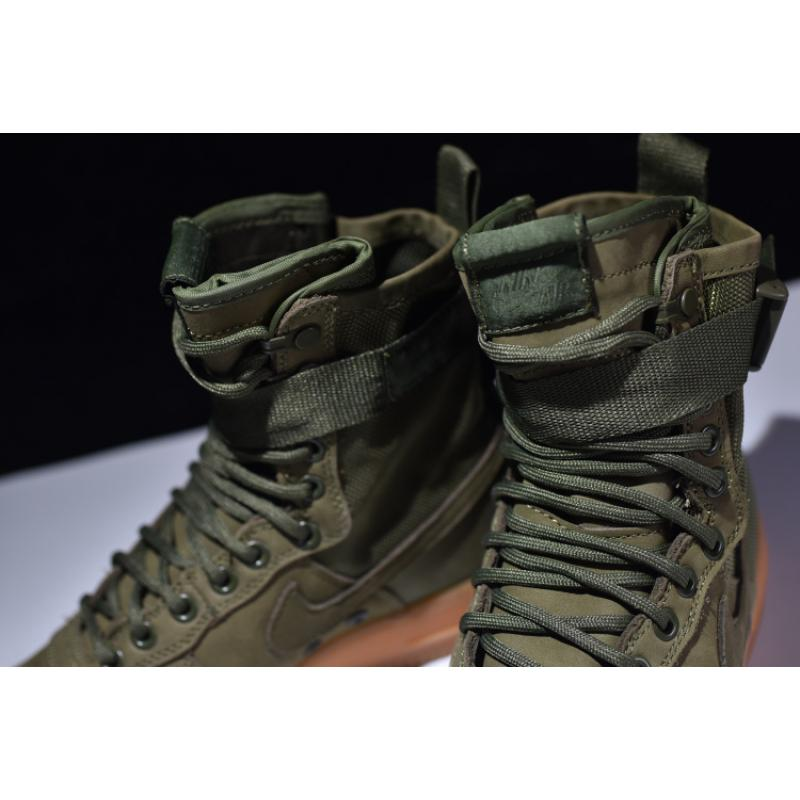 a598141a5d99 Nike SF-AF1 Faded Olive Faded OliveGum Light Brown Online .. Nike Air Force  1 ...