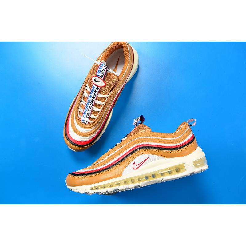 "New Release Nike Air Max 97 ""Pull Tab"" Brown Red-Navy-White 4b5e153e4f"