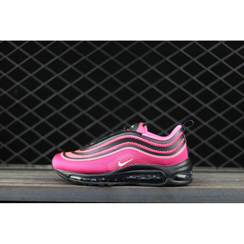 41e3718f46806 Nike Air Max 97 Ultra  17 Black Racer Pink-White For Sale ...