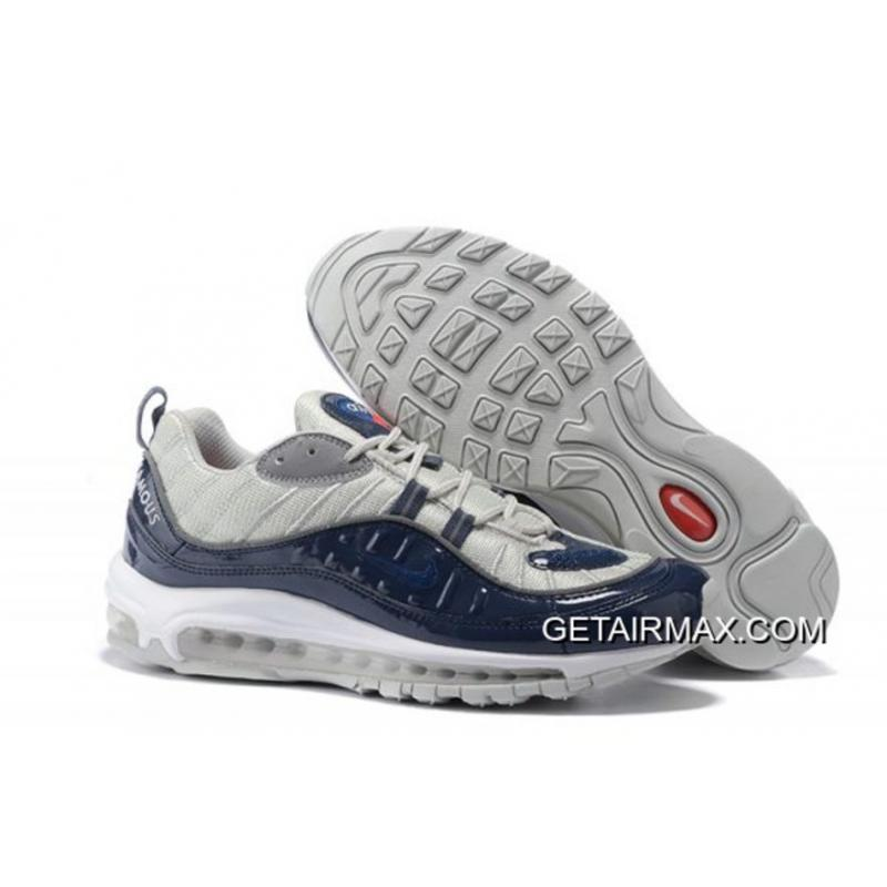 supreme x nike air max 98 blue nz