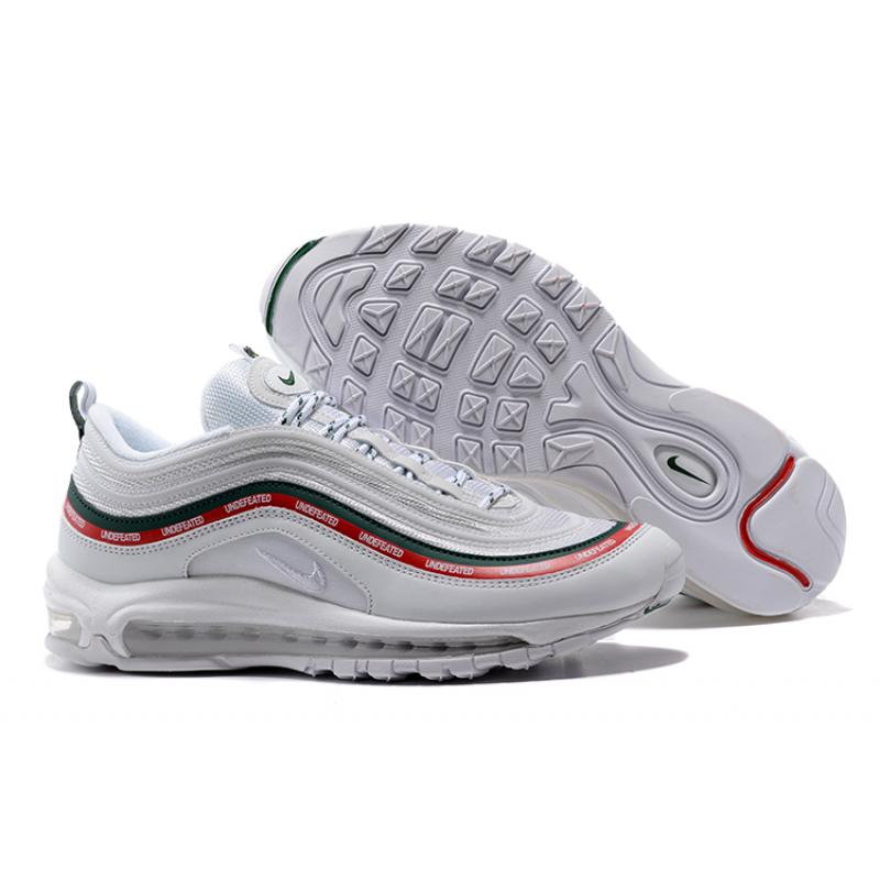 1d88d83802 Free Shipping Undefeated X Nike Air Max 97 OG Sail And White-Gorge Green-  ...