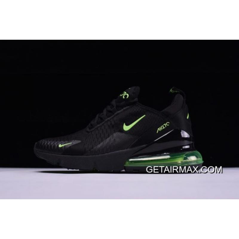 f2f19c9ae56 Nike Air Max 270 Black And Neon Green Discount ...