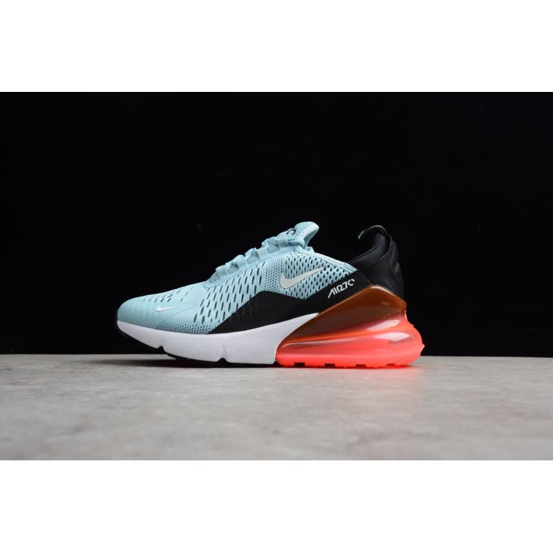 87f82ee50a Free Shipping Nike Air Max 270 Ocean Bliss And Black-Hot Punch ...
