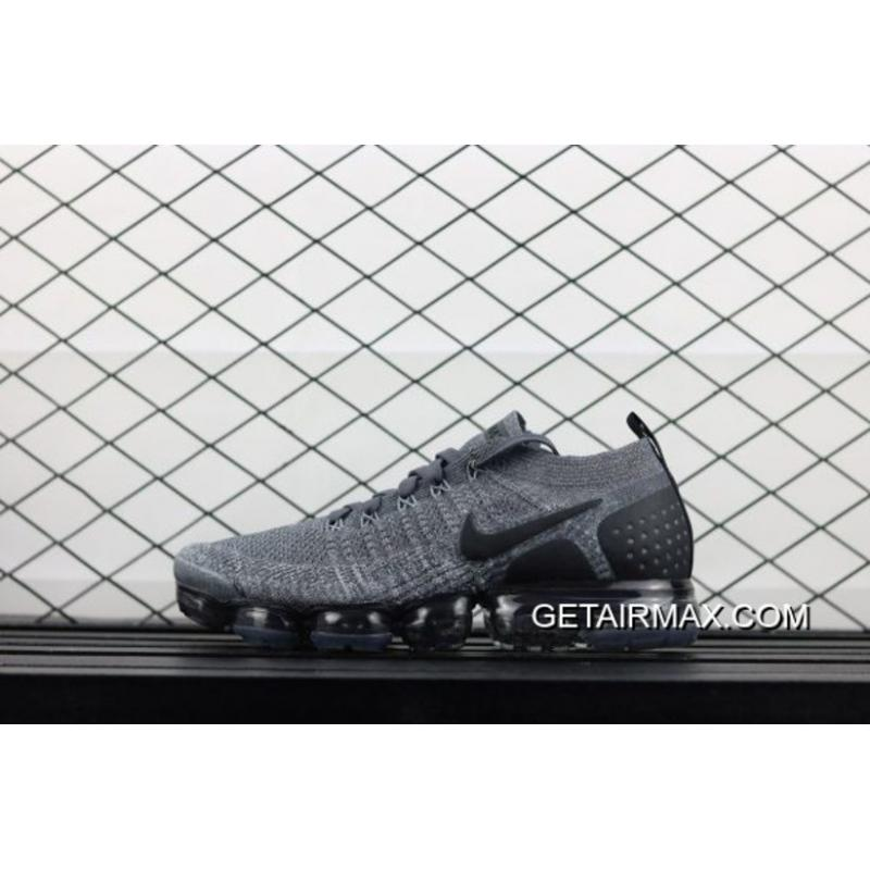 4013b011df Outlet Nike Air VaporMax 2.0 'Oreo' Dray Grey/Black, Price: $95.31 ...