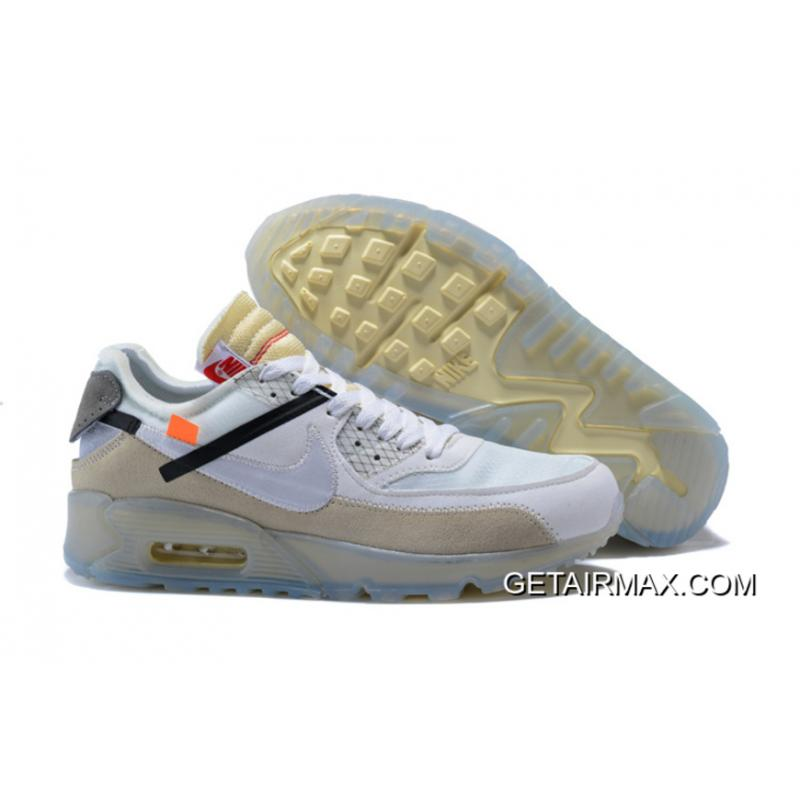 huge discount d1fe8 2b7e7 Men OFF WHITE X NikeLab Air Max 90 SKU 163065-221 Free Shipping ...