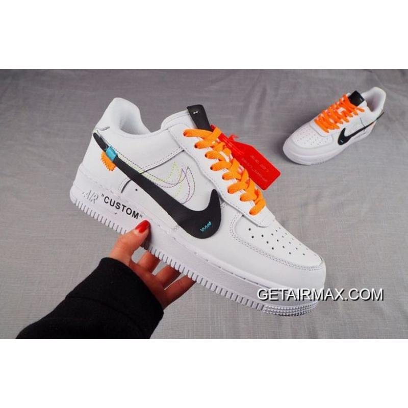 hot sale online 413e6 8f598 Men Nike Air Force 1 Custom Off White SKU:69304-262 New Style