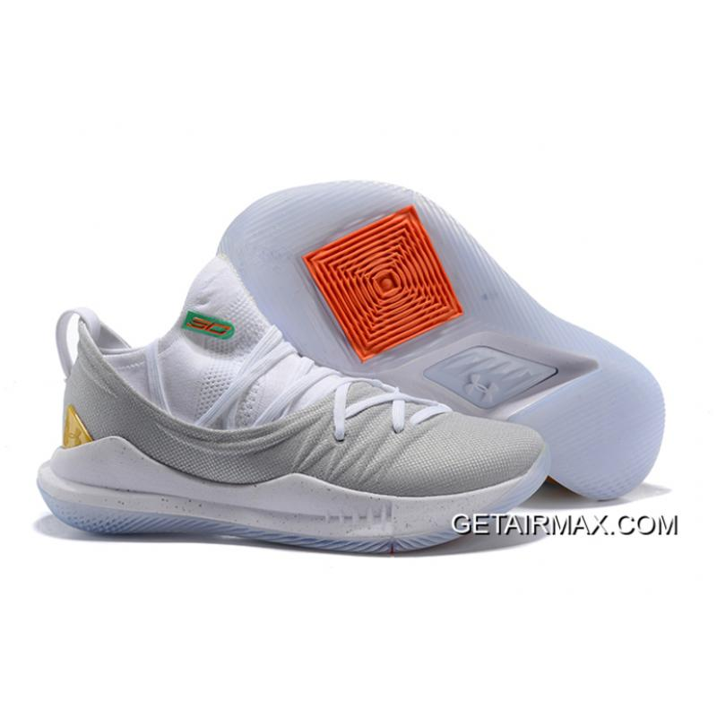 "827fe12454f Latest Under Armour Curry 5 ""Gold Pack"" White Gold ..."