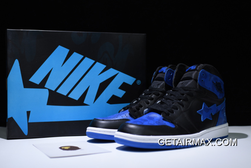 the best attitude eea4f 66c28 BAPE Air Jordan 1 Royal Custom By Jack The Ripper Copuon